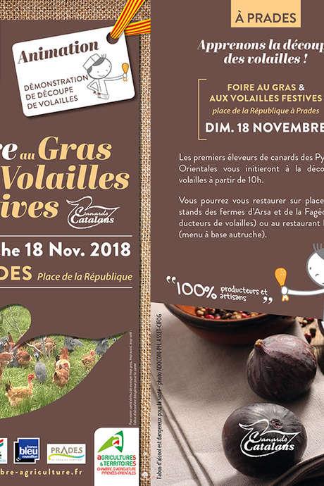 FOIRE AU GRAS ET VOLAILLES FESTIVES