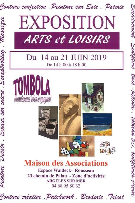 EXPOSITION ANNUELLE D'ARTS ET LOISIRS