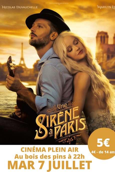 CINEMA SOUS LES ETOILES - UNE SIRENE A PARIS