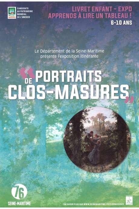 """Exposition """"Portraits de Clos-Masures"""" à l'Office de Tourisme d'Auffay"""