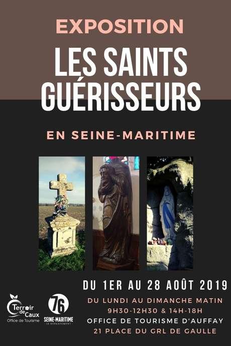 """Exposition """"Les Saints guérisseurs en Seine-Maritime"""" à l'Office de Tourisme d'Auffay"""