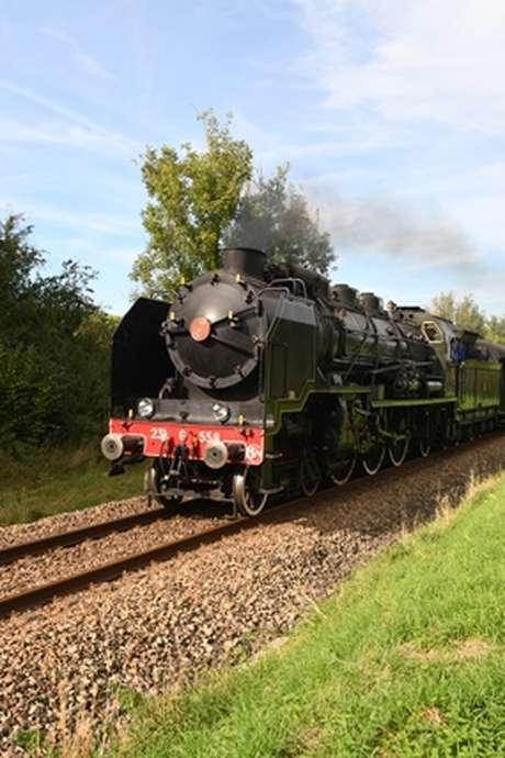 Découverte au rythme de la locomotive à vapeur  : Rouen/ Dieppe aller retour