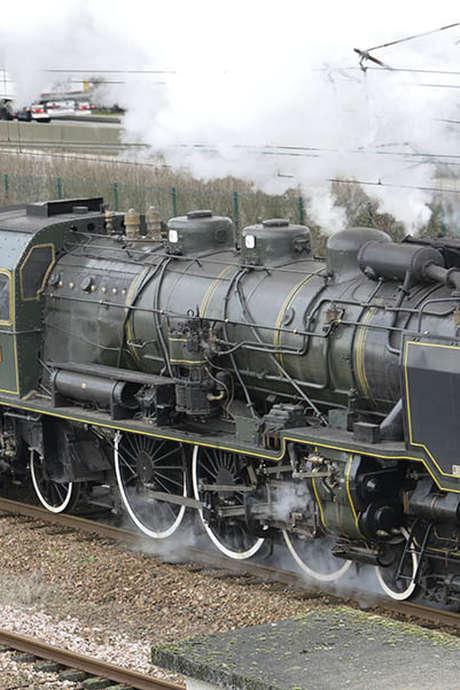 Découverte au rythme de la locomotive à vapeur  : Longueville-Sur-Scie, visite du centre équestre de La Scie et spectacle Vargas Show