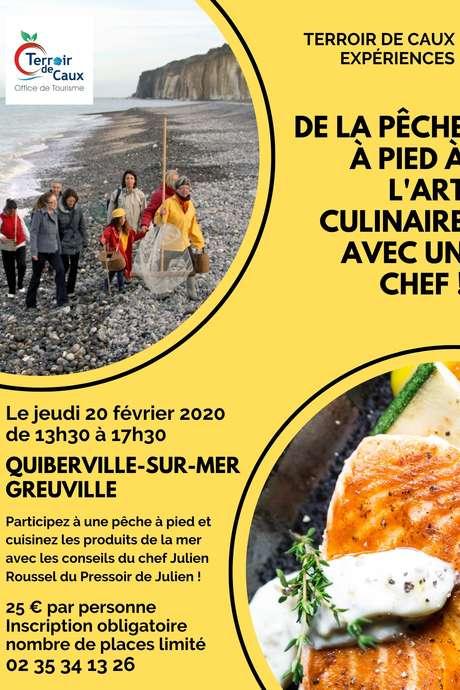 De la pêche à pied à l'art culinaire avec un chef !