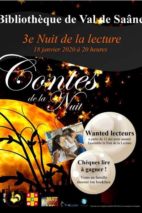 3e Nuit de la Lecture - Contes merveilleux et concours Bookface