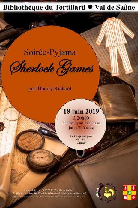Soirée Pyjama - Sherlock Games