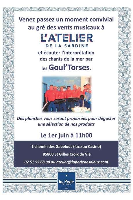 CHANTS DE LA MER AVEC LES GOUL'TORSES