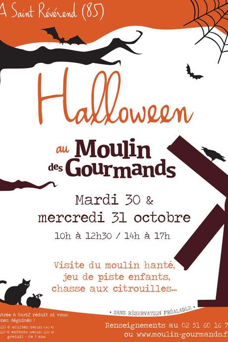 HALLOWEEN AU MOULIN DES GOURMANDS