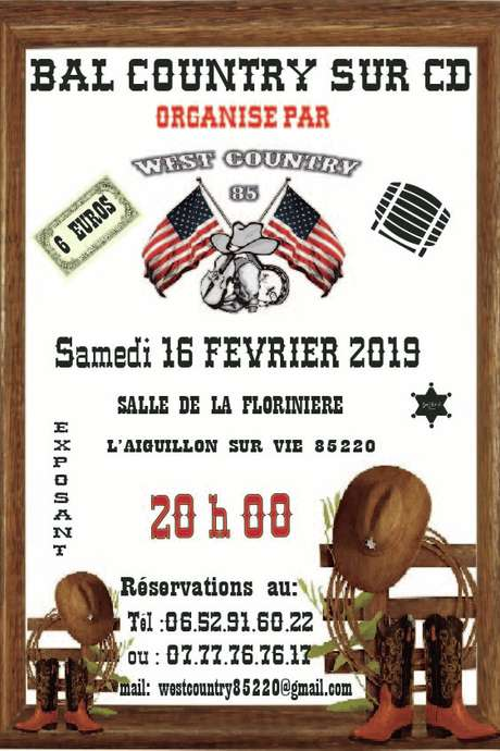 BAL COUNTRY SUR CD