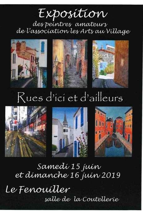 """""""RUES D'ICI ET D'AILLEURS"""" - EXPOSITION DE PEINTURES"""