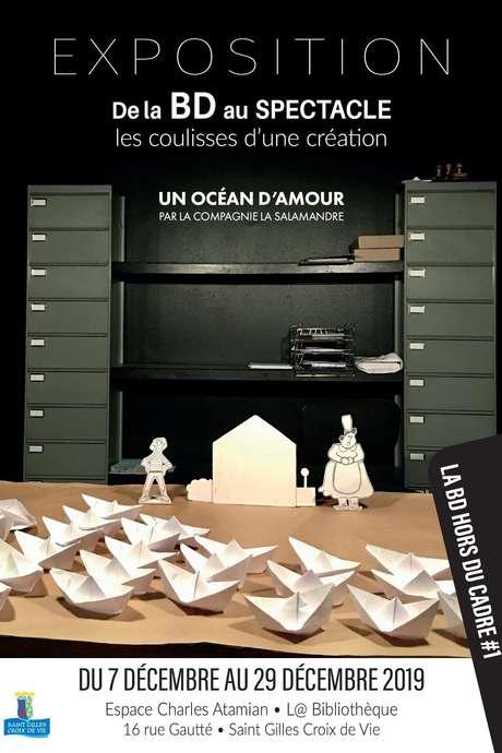 DE LA BD AU SPECTACLE - LES COULISSES D'UNE CRÉATION