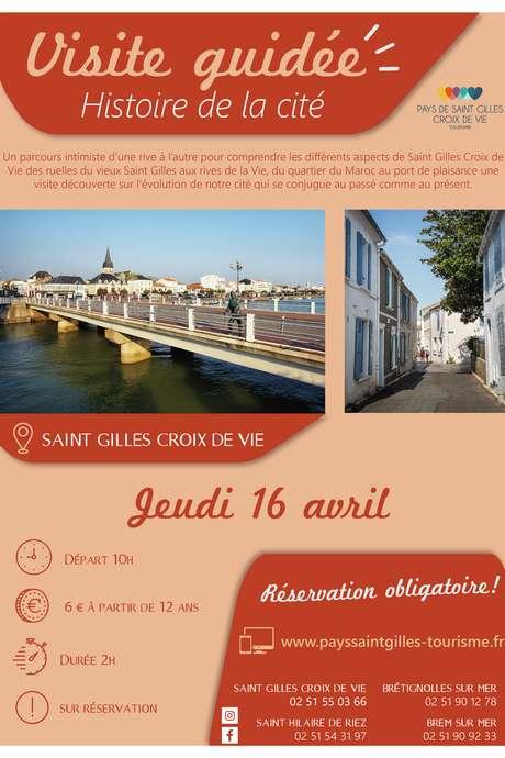 """VISITE GUIDÉE """"HISTOIRE DE LA CITE"""" 16-04-2020"""
