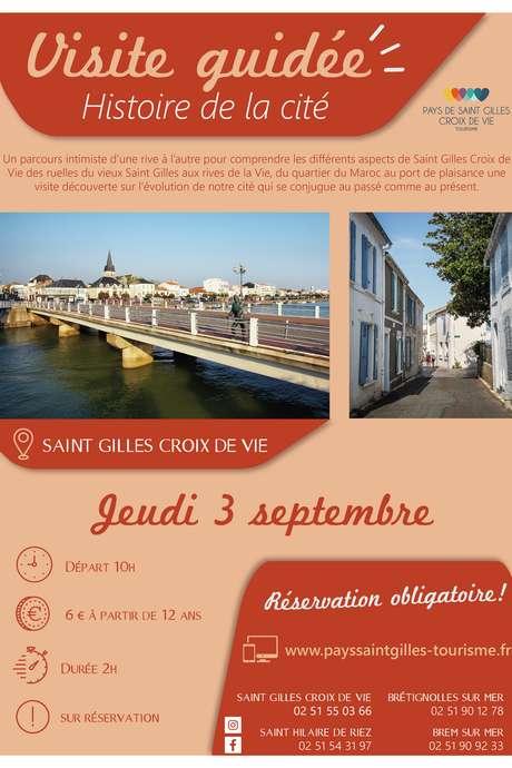 """VISITE GUIDÉE """"HISTOIRE DE LA CITÉ"""" 03-09-2020"""