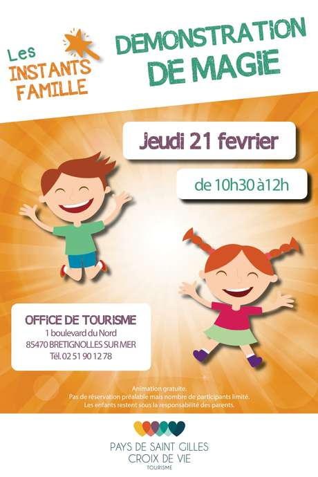 INSTANTS FAMILLE : DÉMONSTRATION DE MAGIE