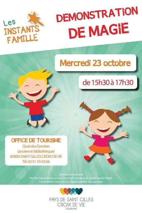 INSTANT FAMILLE - DÉMONSTRATION DE MAGIE
