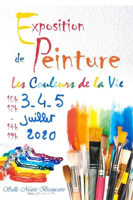 """EXPOSITION-VENTE DE PEINTURES PAR """"LES COULEURS DE LA VIE"""""""