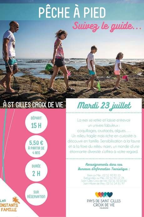 """VISITE GUIDÉE """"PÊCHE A PIED"""" 23-07-19"""