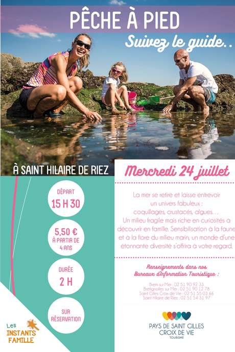 """VISITE GUIDEE """"PÊCHE A PIED"""" 24-07-19"""