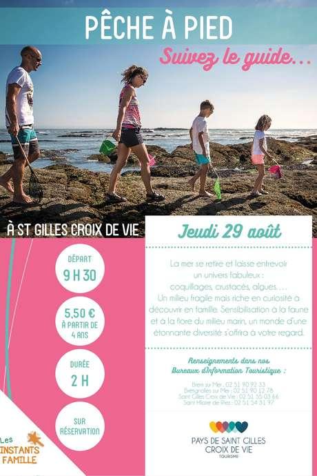 """VISITE GUIDÉE """"PÊCHE À PIED"""" 29-08-19"""