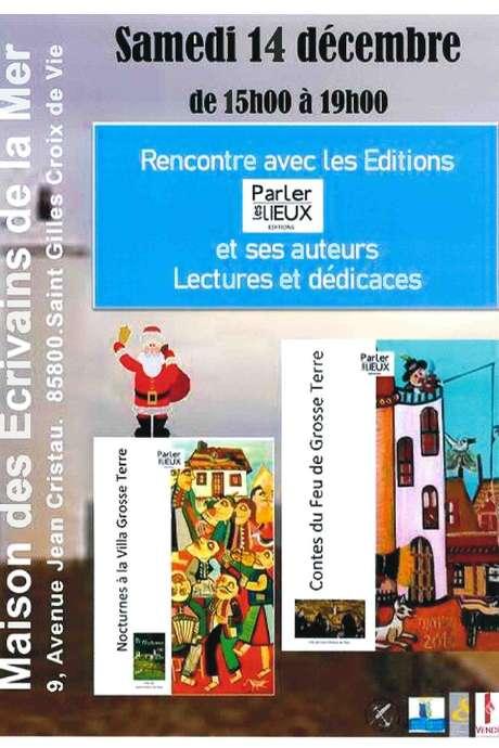 """RENCONTRE AVEC LES ÉDITIONS """"PARLER LES LIEUX"""" ET SES AUTEURS - LECTURES ET DÉDICACES"""