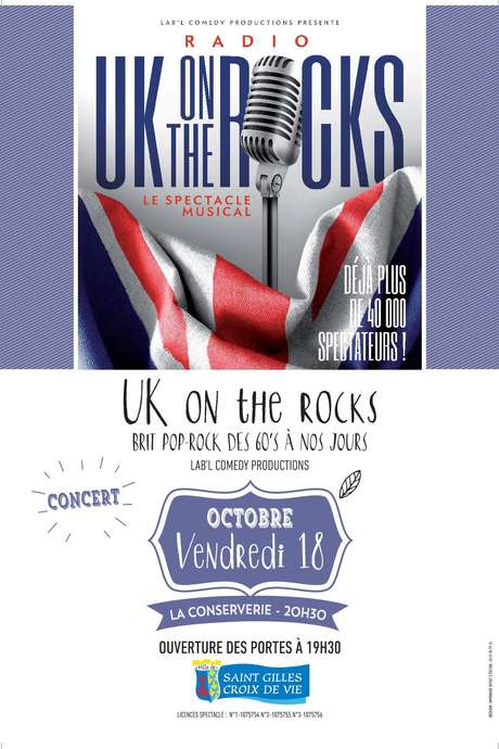 UK ON THE ROCKS - BRIT POP-ROCK DES 60'S À NOS JOURS