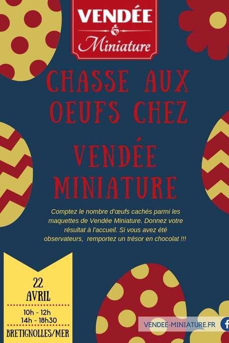 CHASSE AUX OEUFS À VENDÉE MINIATURE