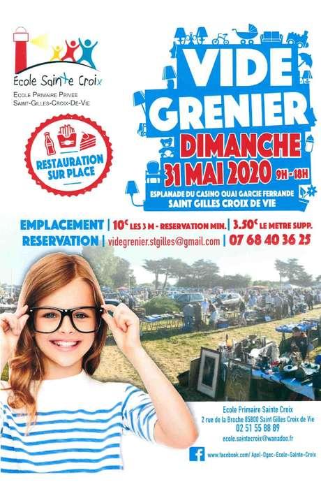 VIDE-GRENIER 31-05-20 - ANNULÉ