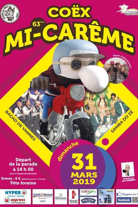 63ÈME MI-CARÊME DE COËX