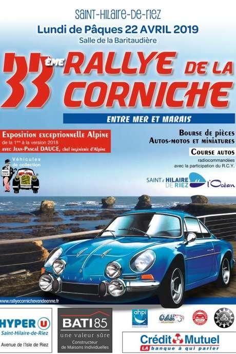 33ÈME RALLYE TOURISTIQUE DE LA CORNICHE