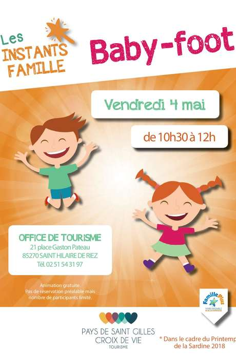 INSTANT FAMILLE - BABY FOOT