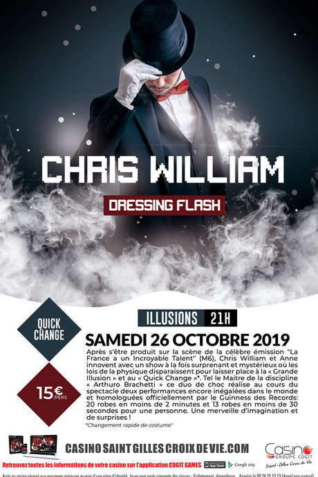 CHRIS WILLIAM - DRESSING FLASH