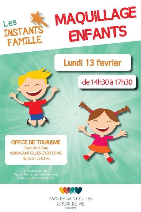 INSTANTS FAMILLE - MAQUILLAGE POUR ENFANTS