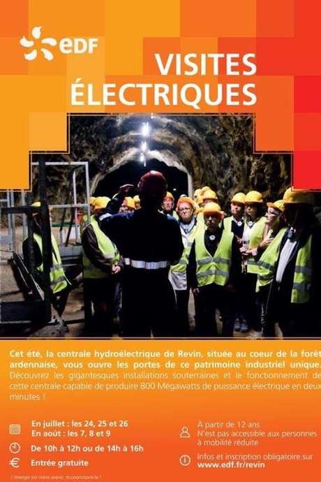 Visites guidées de la centrale hydroélectrique de Revin