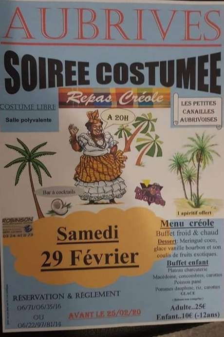 Soirée costumée Créole