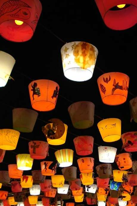 Défilé des lampions de Saint-Menges