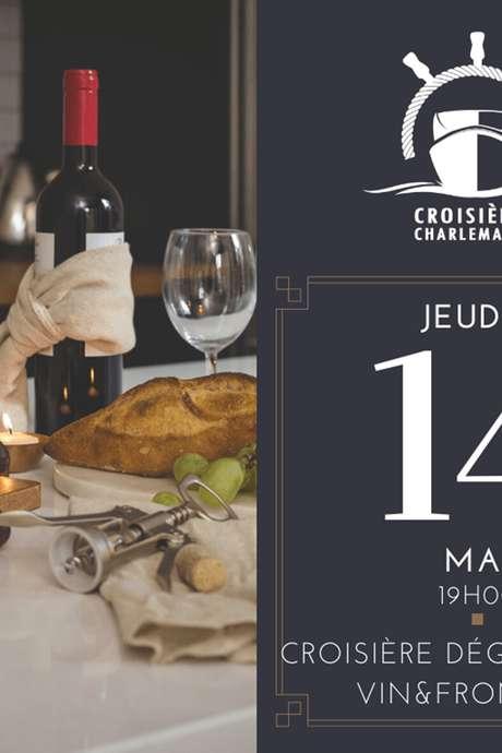 Croisière dégustation vins & fromage