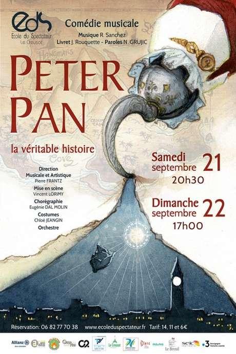 """Spectacle de l'École du Spectateur : """"Peter Pan, la véritable histoire"""""""