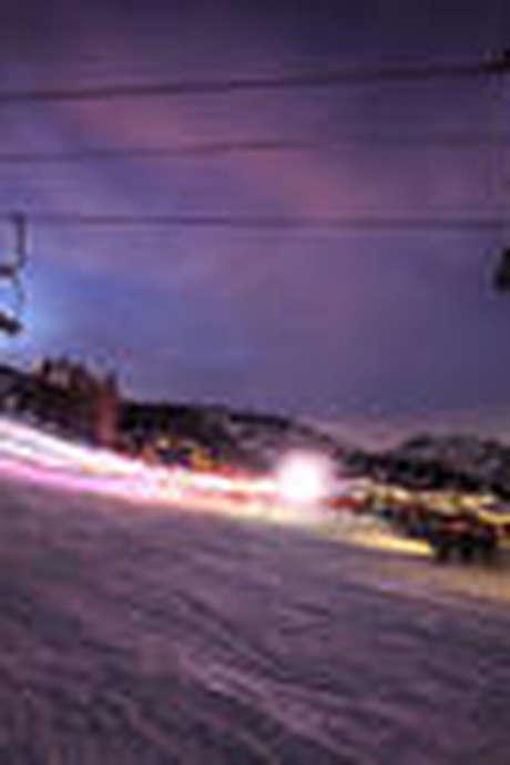 Ski de piste nocturne
