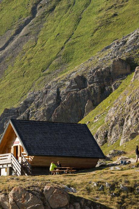 Rencontreau refuge de la Leisse - Parc national de la Vanoise