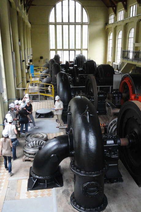 Du torrent au courant, les centrales EDF d'Avrieux et Villarodin : Visite guidée