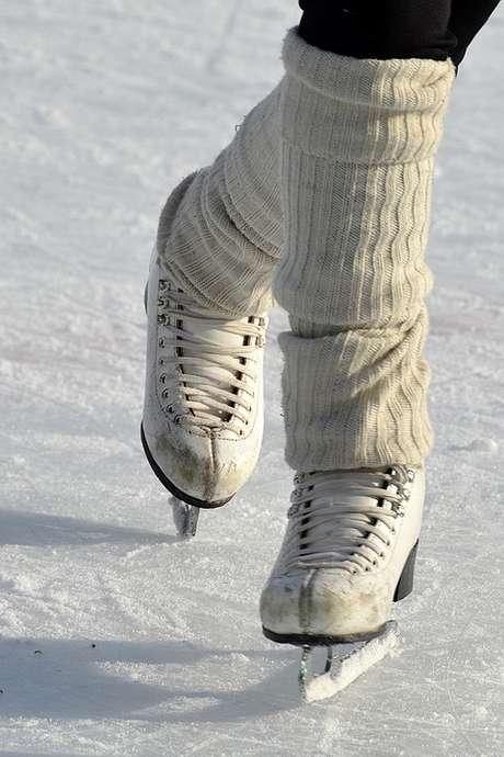 La patinoire d'Épinay