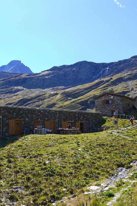 Rencontre au refuge de l'Arpont - Parc national de la Vanoise