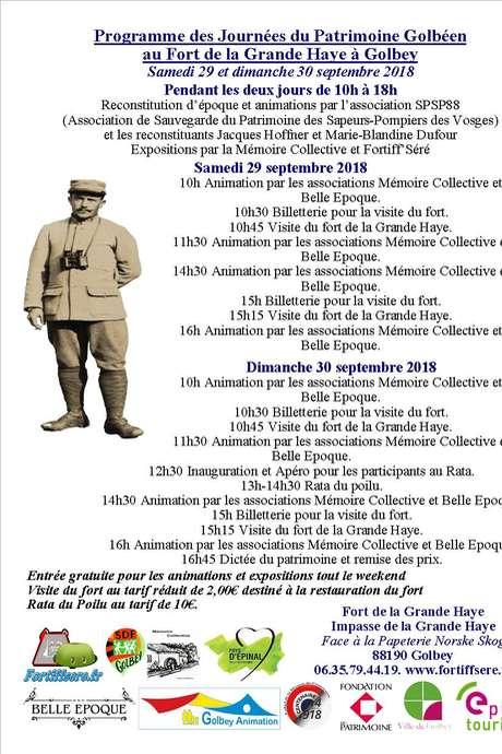 RATA DU POILU AU FORT DE LA GRANDE HAYE