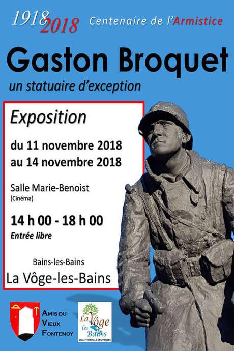 EXPOSITION GASTON BROQUET