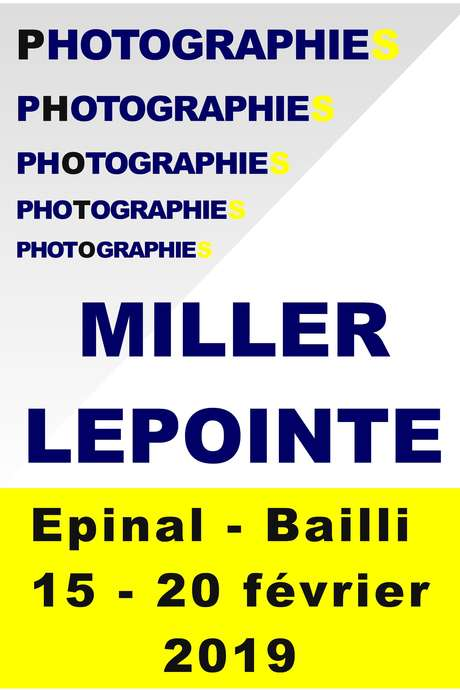 EXPOSIITION PHOTOS / E.LEPOINTE : LIEUX S.MILLER : TRUMPET TIME
