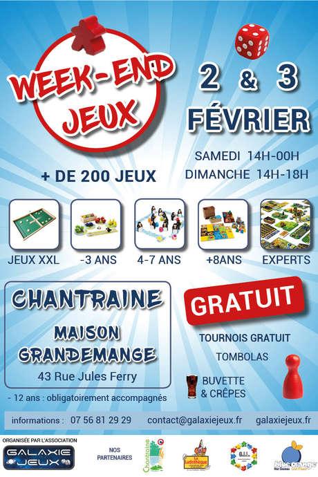 WEEK-END JEUX