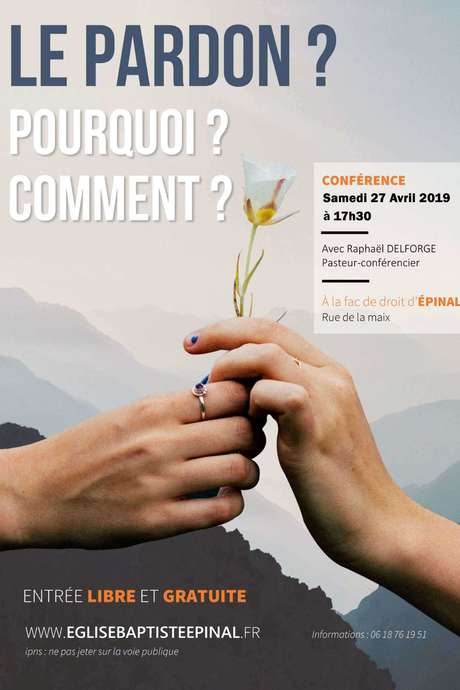 CONFERENCE LE PARDON? POURQUOI? COMMENT?