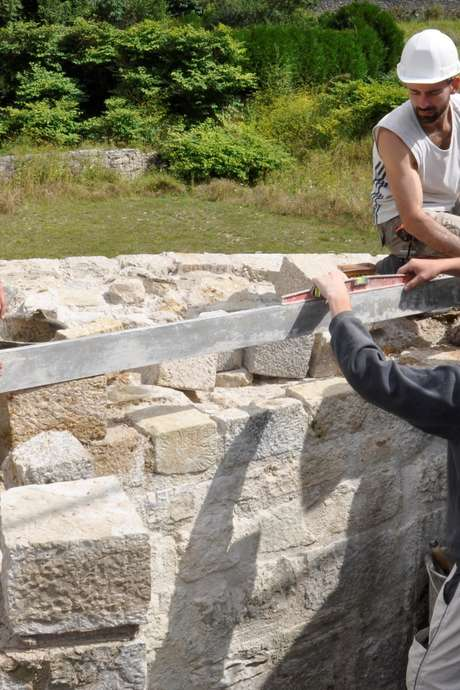STAGE ANIMATEUR DE CHANTIER SUR MONUMENT HISTORIQUE