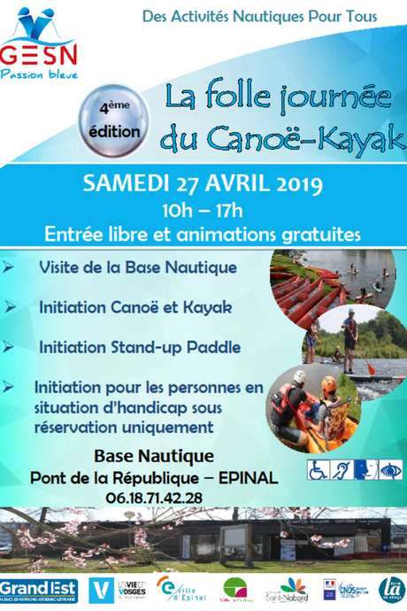 LA FOLLE JOURNÉE DU CANOË KAYAK