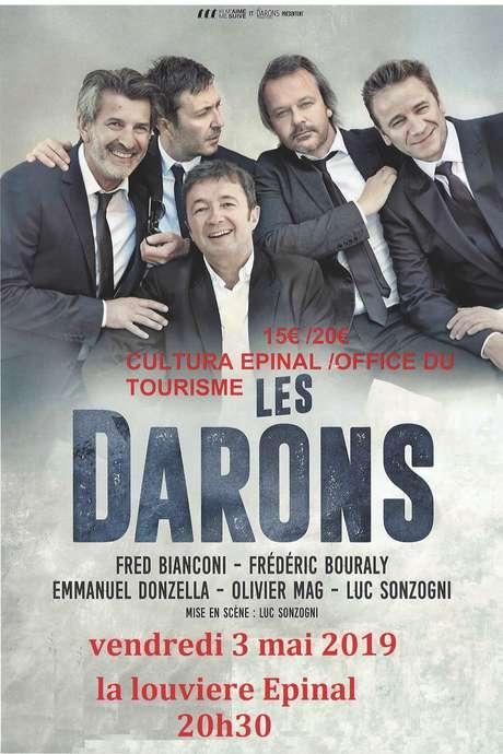 PIECES DE THEATRE LES DARONS